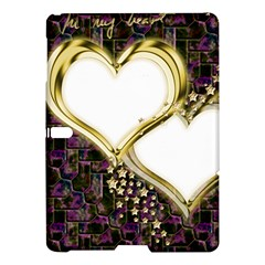 Lover Romantic Couple Apart Samsung Galaxy Tab S (10 5 ) Hardshell Case  by Nexatart