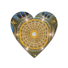 Arches Architecture Cathedral Heart Magnet by Nexatart