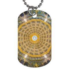 Arches Architecture Cathedral Dog Tag (two Sides)