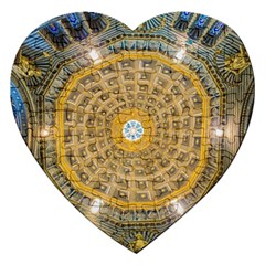 Arches Architecture Cathedral Jigsaw Puzzle (heart)