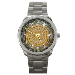 Arches Architecture Cathedral Sport Metal Watch by Nexatart
