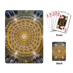 Arches Architecture Cathedral Playing Card by Nexatart