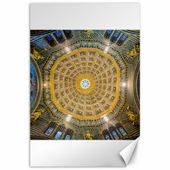Arches Architecture Cathedral Canvas 24  X 36  by Nexatart