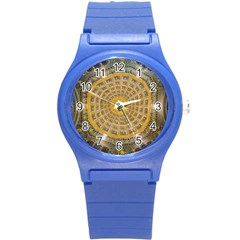 Arches Architecture Cathedral Round Plastic Sport Watch (s) by Nexatart