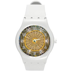 Arches Architecture Cathedral Round Plastic Sport Watch (m) by Nexatart