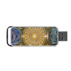 Arches Architecture Cathedral Portable Usb Flash (one Side) by Nexatart