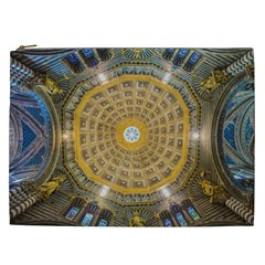 Arches Architecture Cathedral Cosmetic Bag (xxl)  by Nexatart