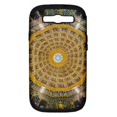 Arches Architecture Cathedral Samsung Galaxy S Iii Hardshell Case (pc+silicone) by Nexatart