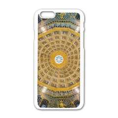 Arches Architecture Cathedral Apple Iphone 6/6s White Enamel Case