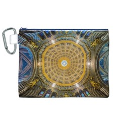 Arches Architecture Cathedral Canvas Cosmetic Bag (xl) by Nexatart