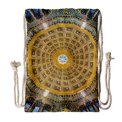 Arches Architecture Cathedral Drawstring Bag (large) by Nexatart