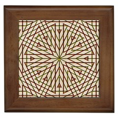 Kaleidoscope Online Triangle Framed Tiles by Nexatart