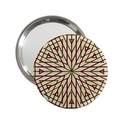 Kaleidoscope Online Triangle 2 25  Handbag Mirrors by Nexatart