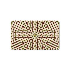 Kaleidoscope Online Triangle Magnet (name Card)