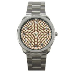Kaleidoscope Online Triangle Sport Metal Watch
