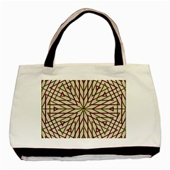 Kaleidoscope Online Triangle Basic Tote Bag by Nexatart