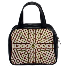 Kaleidoscope Online Triangle Classic Handbags (2 Sides) by Nexatart