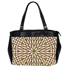 Kaleidoscope Online Triangle Office Handbags (2 Sides)  by Nexatart