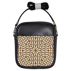 Kaleidoscope Online Triangle Girls Sling Bags by Nexatart