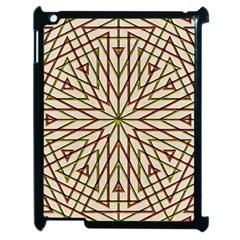 Kaleidoscope Online Triangle Apple Ipad 2 Case (black) by Nexatart