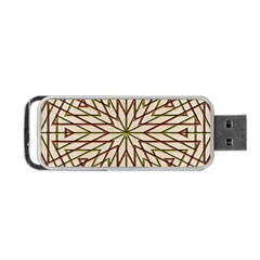 Kaleidoscope Online Triangle Portable Usb Flash (two Sides) by Nexatart