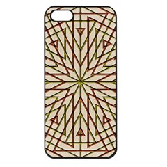 Kaleidoscope Online Triangle Apple Iphone 5 Seamless Case (black)