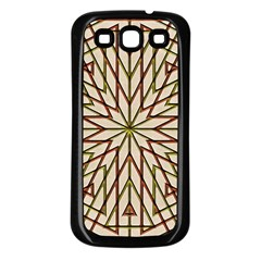 Kaleidoscope Online Triangle Samsung Galaxy S3 Back Case (black)