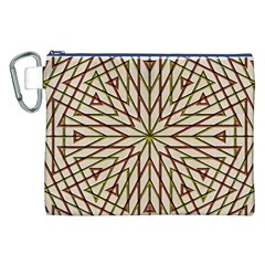 Kaleidoscope Online Triangle Canvas Cosmetic Bag (xxl) by Nexatart