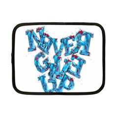 Sport Crossfit Fitness Gym Never Give Up Netbook Case (small)  by Nexatart