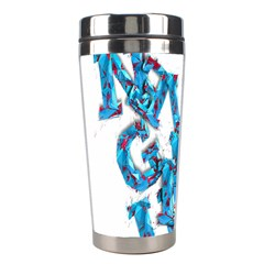 Sport Crossfit Fitness Gym Never Give Up Stainless Steel Travel Tumblers by Nexatart