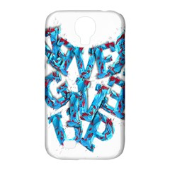 Sport Crossfit Fitness Gym Never Give Up Samsung Galaxy S4 Classic Hardshell Case (pc+silicone) by Nexatart