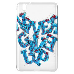 Sport Crossfit Fitness Gym Never Give Up Samsung Galaxy Tab Pro 8 4 Hardshell Case by Nexatart