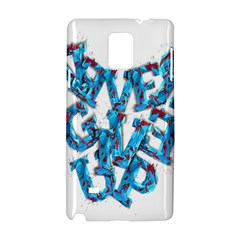 Sport Crossfit Fitness Gym Never Give Up Samsung Galaxy Note 4 Hardshell Case