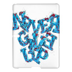 Sport Crossfit Fitness Gym Never Give Up Samsung Galaxy Tab S (10 5 ) Hardshell Case  by Nexatart