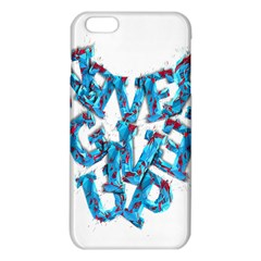 Sport Crossfit Fitness Gym Never Give Up Iphone 6 Plus/6s Plus Tpu Case