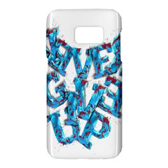 Sport Crossfit Fitness Gym Never Give Up Samsung Galaxy S7 Hardshell Case  by Nexatart