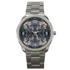 Storm Nature Clouds Landscape Tree Sport Metal Watch by Nexatart