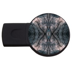 Storm Nature Clouds Landscape Tree Usb Flash Drive Round (4 Gb) by Nexatart