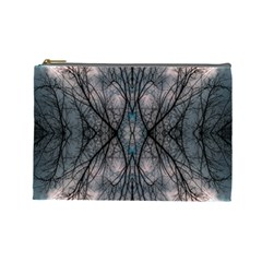 Storm Nature Clouds Landscape Tree Cosmetic Bag (large)  by Nexatart