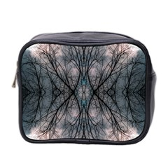 Storm Nature Clouds Landscape Tree Mini Toiletries Bag 2 Side