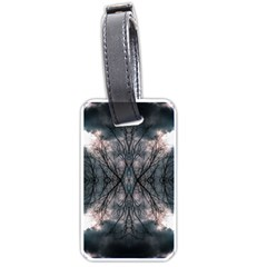 Storm Nature Clouds Landscape Tree Luggage Tags (two Sides)