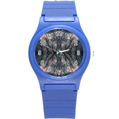 Storm Nature Clouds Landscape Tree Round Plastic Sport Watch (s) by Nexatart