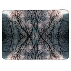 Storm Nature Clouds Landscape Tree Samsung Galaxy Tab 7  P1000 Flip Case