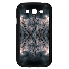 Storm Nature Clouds Landscape Tree Samsung Galaxy Grand Duos I9082 Case (black)