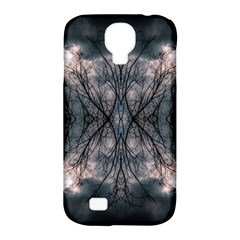 Storm Nature Clouds Landscape Tree Samsung Galaxy S4 Classic Hardshell Case (pc+silicone)