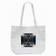 Storm Nature Clouds Landscape Tree Tote Bag (white) by Nexatart