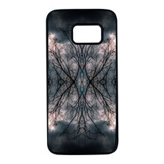 Storm Nature Clouds Landscape Tree Samsung Galaxy S7 Black Seamless Case