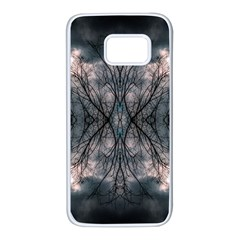 Storm Nature Clouds Landscape Tree Samsung Galaxy S7 White Seamless Case