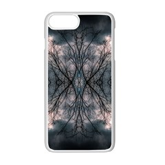 Storm Nature Clouds Landscape Tree Apple Iphone 7 Plus White Seamless Case by Nexatart