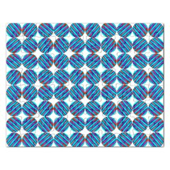 Geometric Dots Pattern Rainbow Rectangular Jigsaw Puzzl by Nexatart
